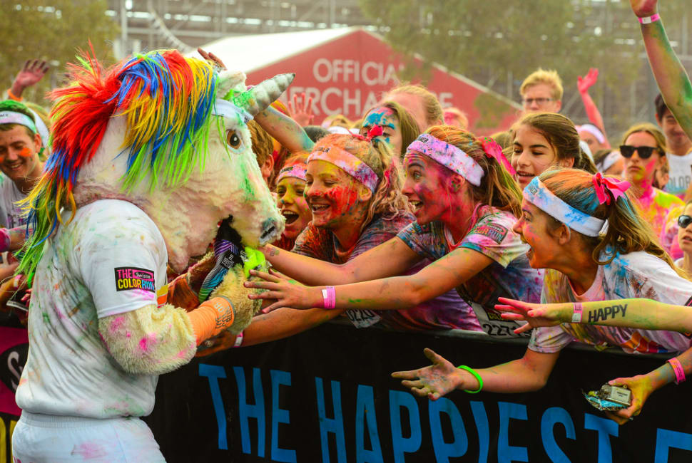 The Color Run in Melbourne - Best Season
