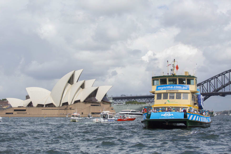 Best time for Ferrython in Sydney