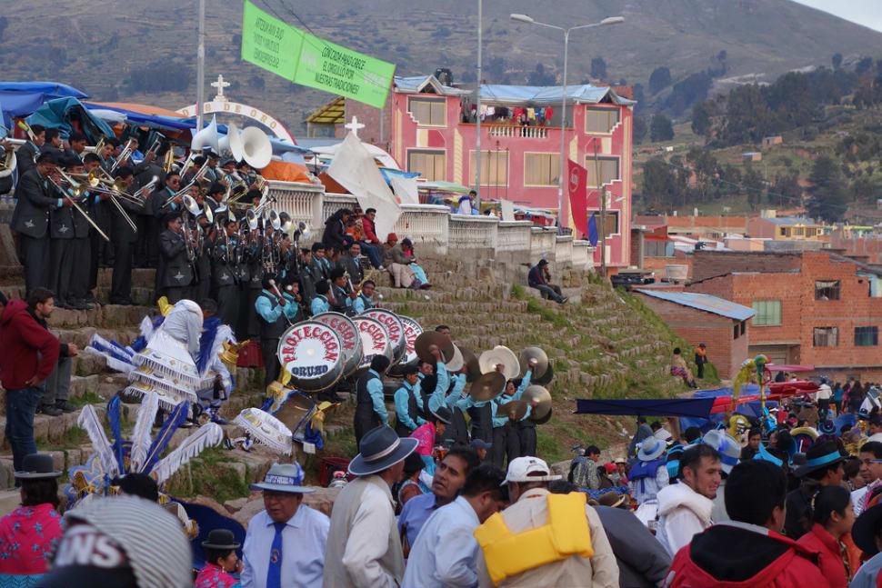 Best time for Fiesta de la Cruz in Bolivia