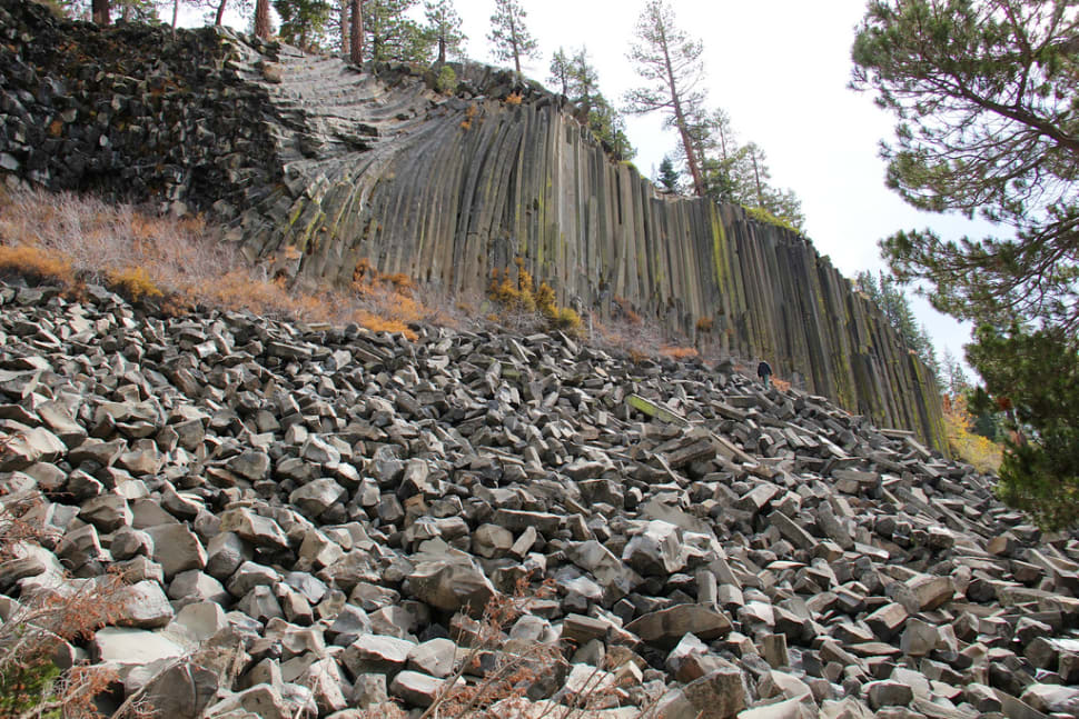 Best time for Devils Postpile National Monument in California