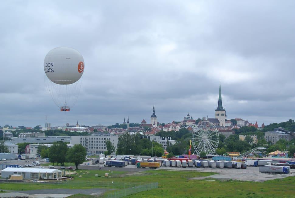 Best time to see Balloon Tallinn in Estonia