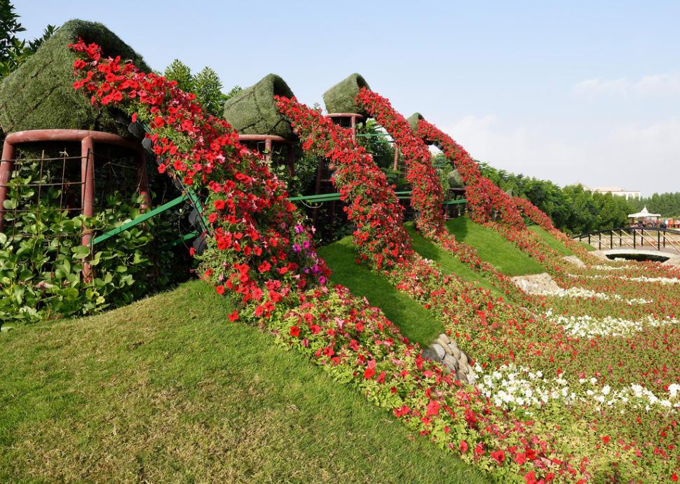 Dubai Miracle Garden in Dubai - Best Season