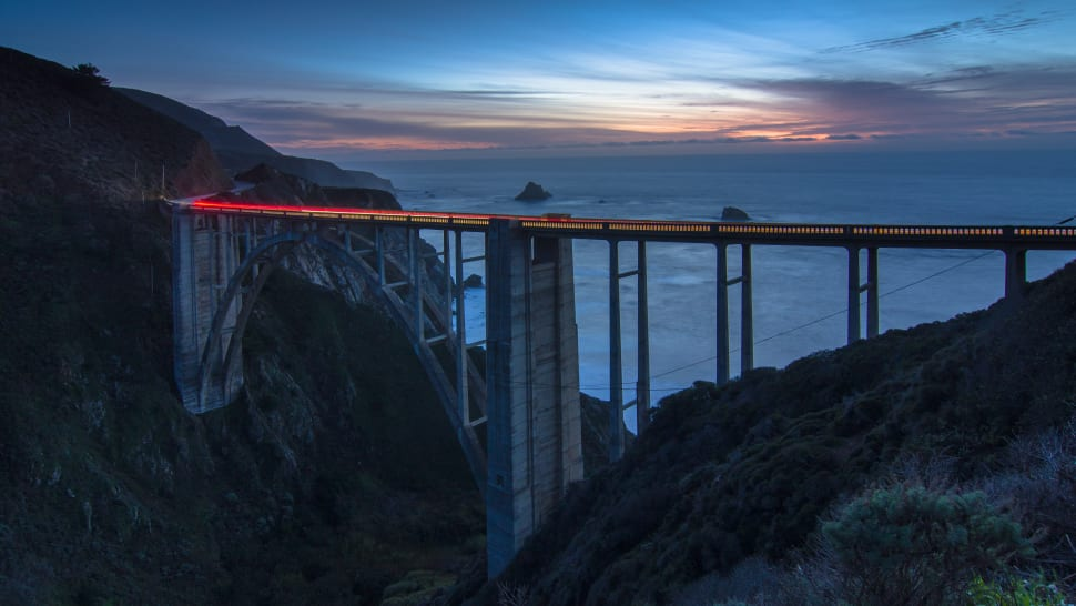 Bixby Bridge, Big Sur coast of California