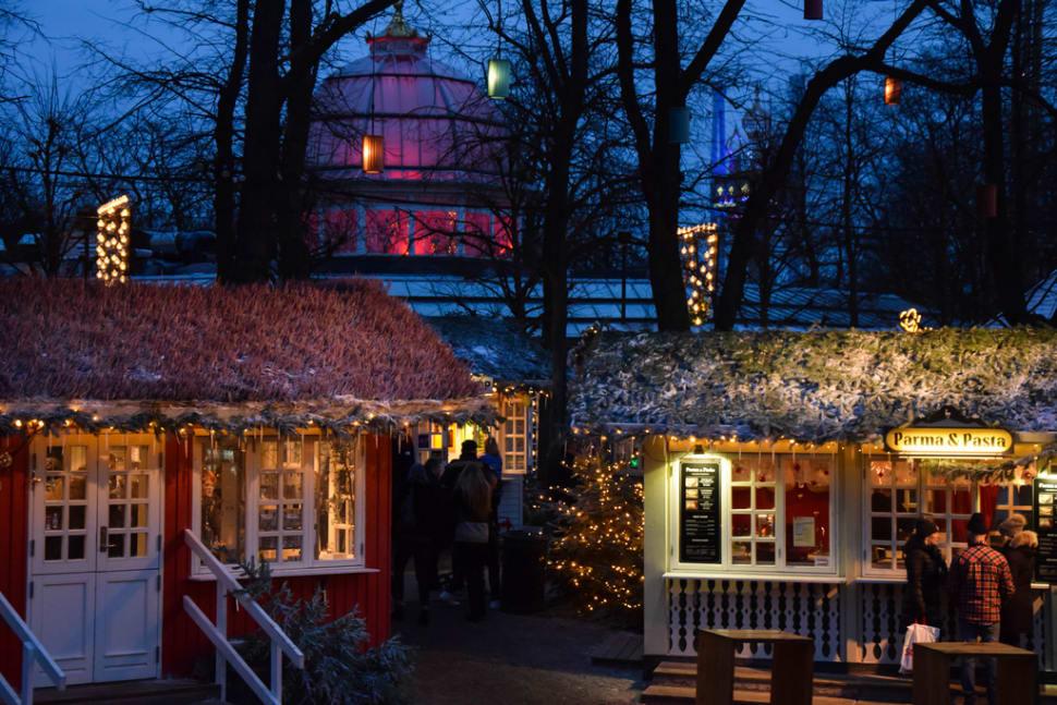 Christmas market at Tivoli, Copenhagen