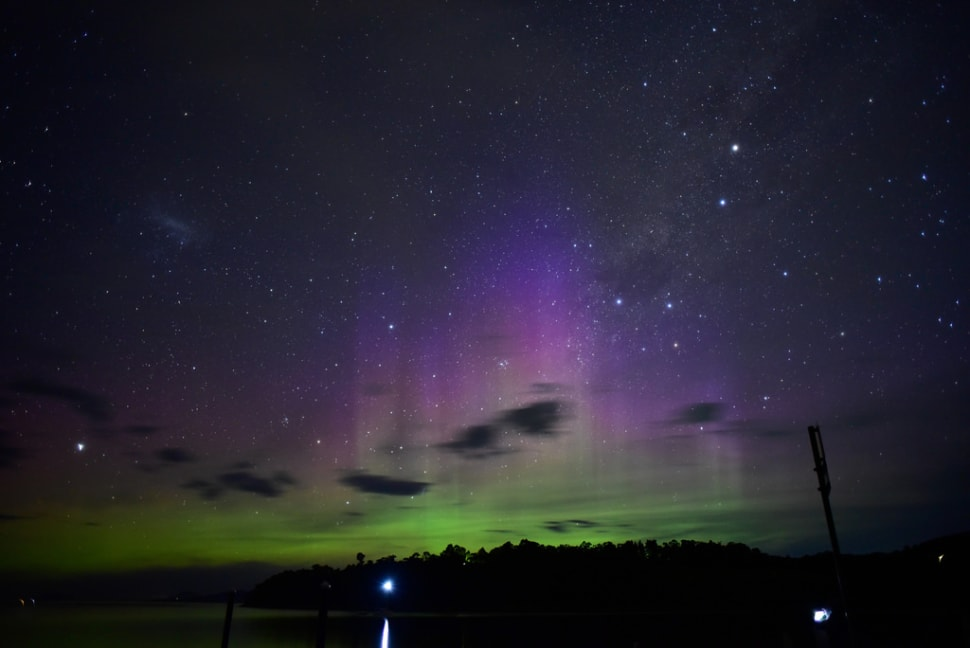 Aurora Australis in Tasmania - Best Time