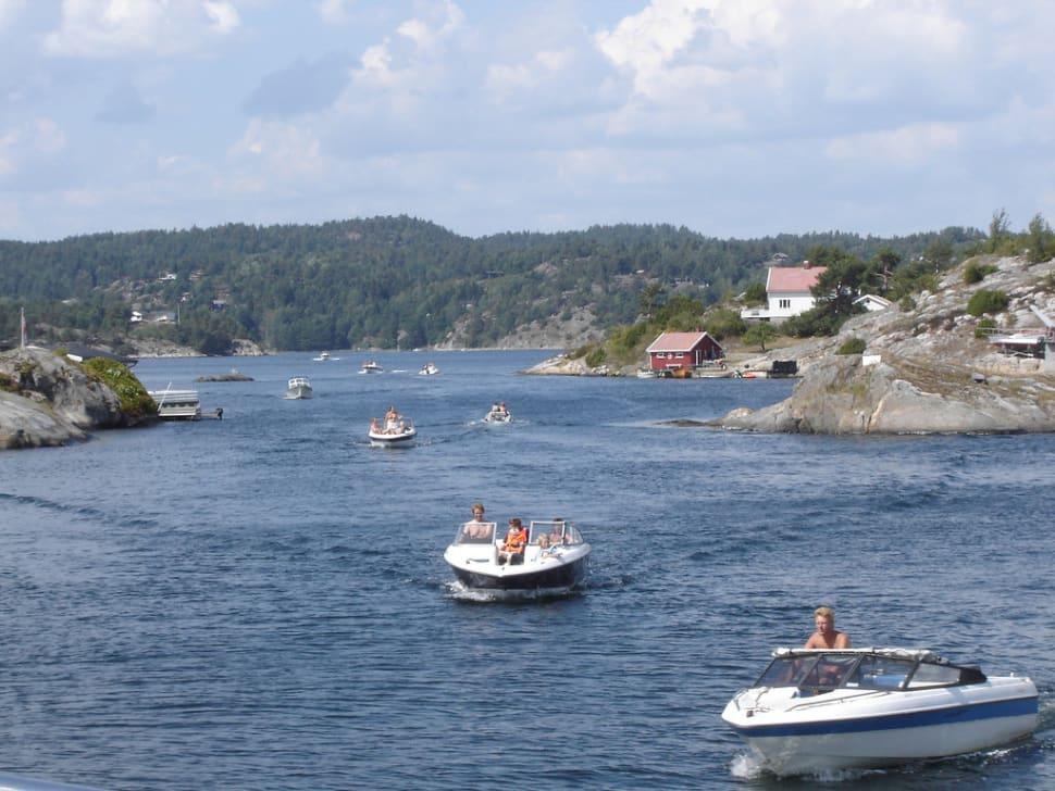 Best time for Boating in Sweden