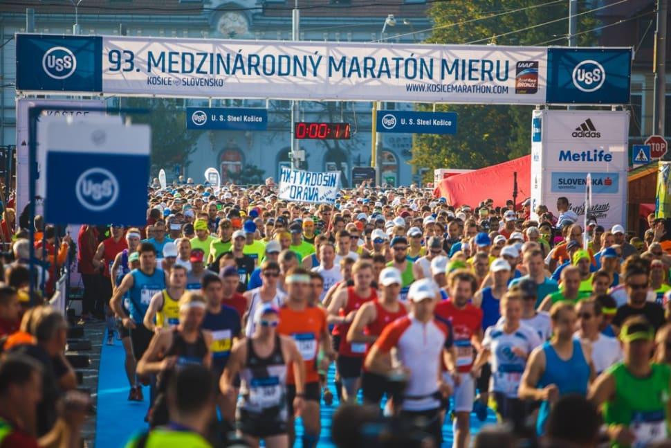 Košice Peace Marathon in Slovakia - Best Time