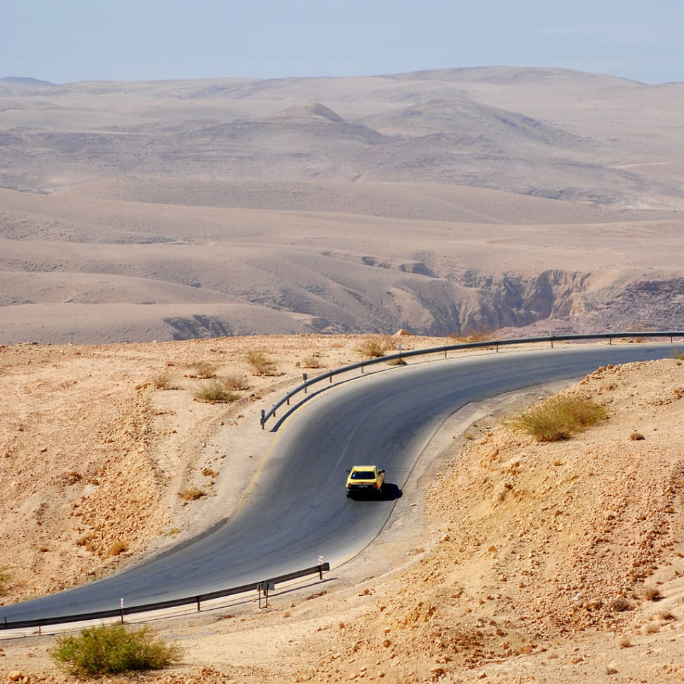 King's Highway in Jordan - Best Season