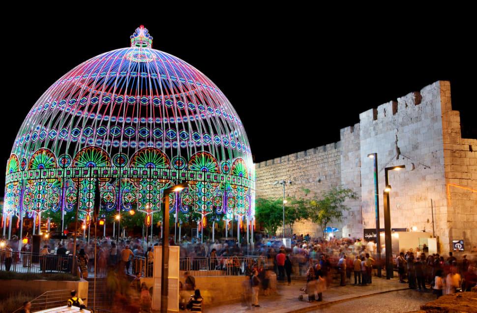 Jerusalem Light Festival 2018 In Israel Dates Amp Map