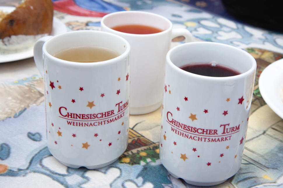 Glühwein and Kinderpunsch at Munich Christmas Market