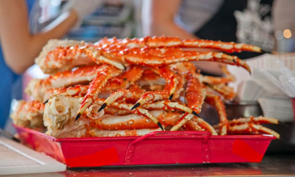 King Crab in Alaska - Best Season