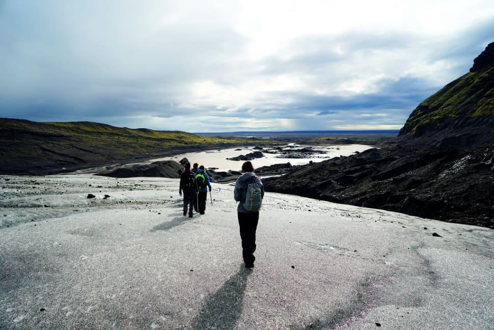 Best time for Glacier Walking