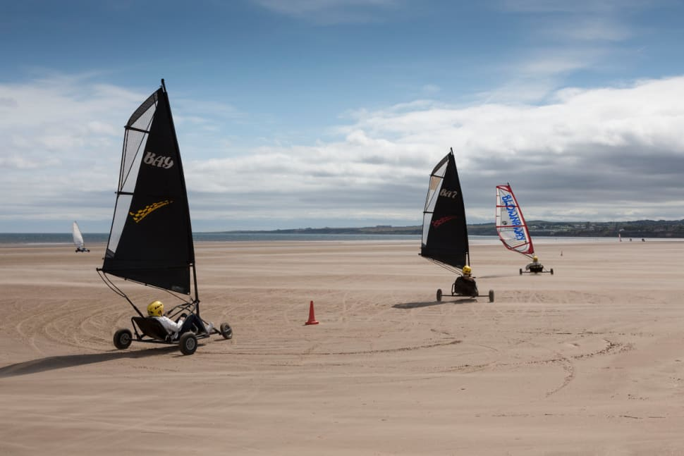 Land or Sand Yachting in Scotland - Best Time