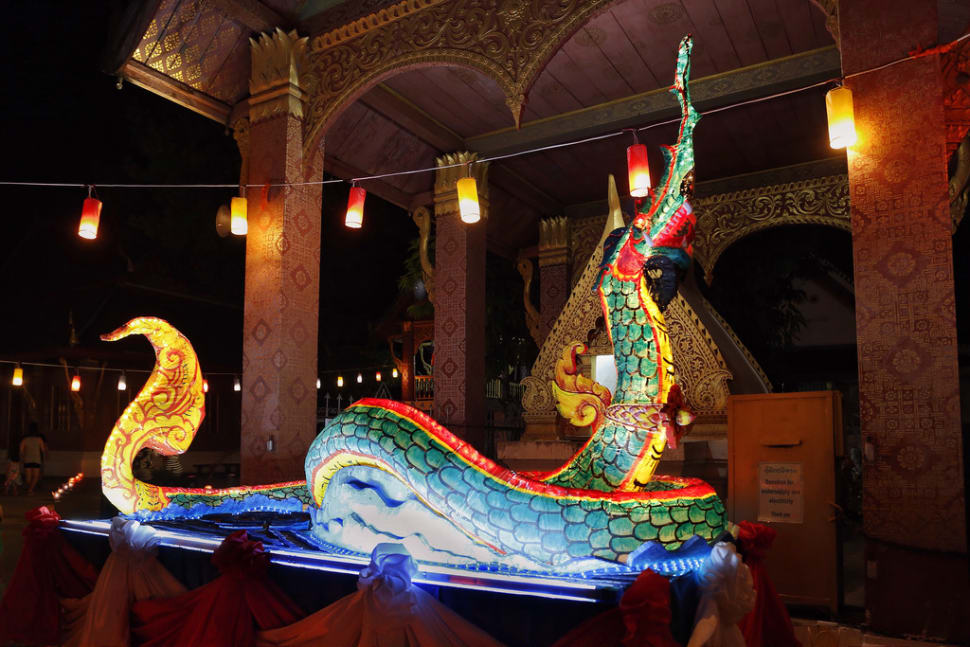 Best time for Boun Awk Phansa or the End of Buddhist Lent in Laos