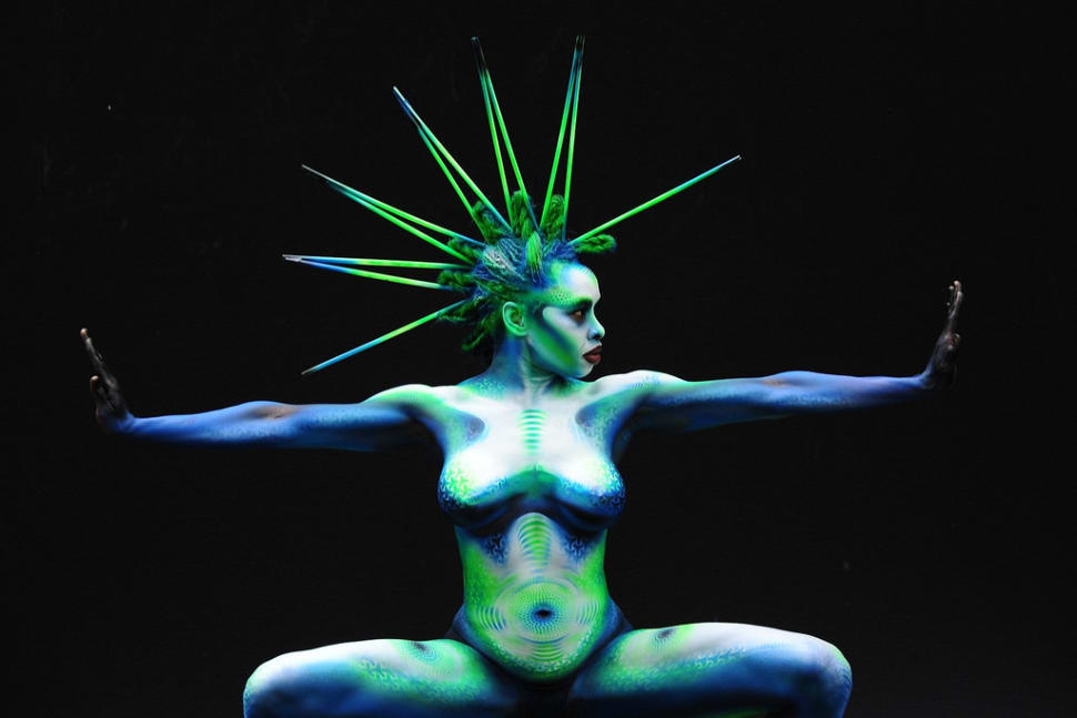 Best time to see World Bodypainting Festival in Austria