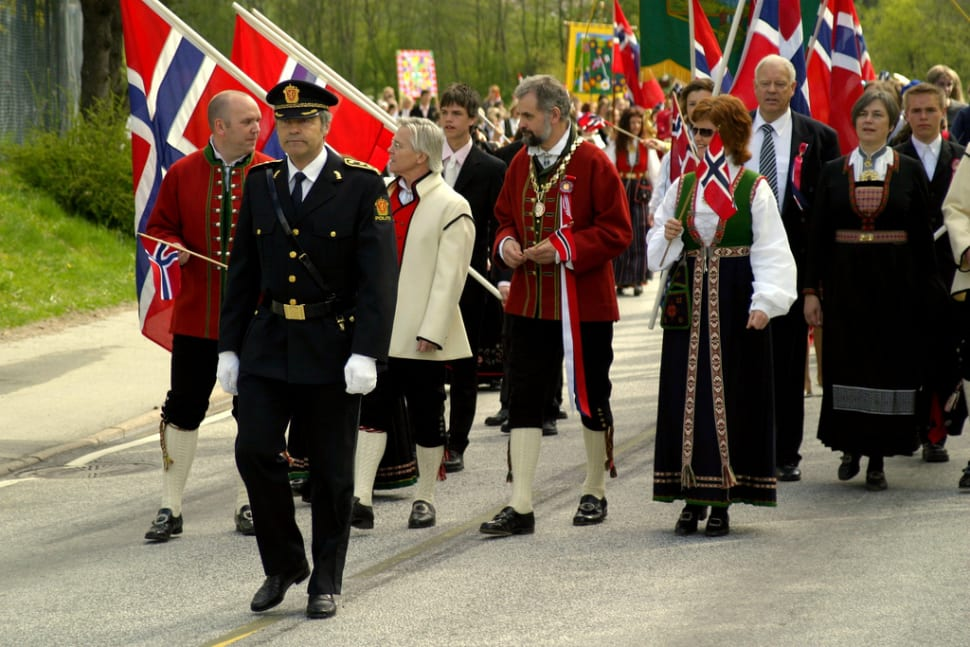 Best time to see Norway's National Day in Norway