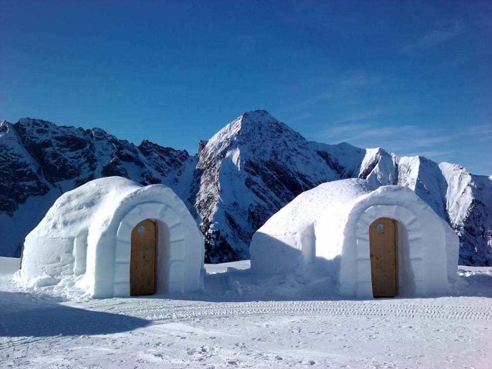 Progressive Near Me >> Best time for Igloo Building in Austria 2018 - Best Season & Map