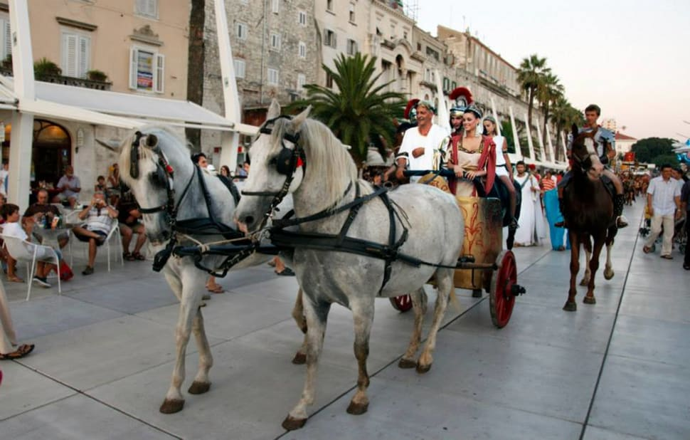 Best time for Nights of Diocletian in Croatia