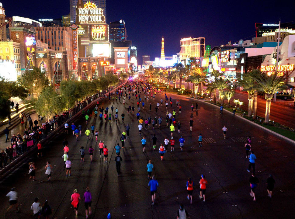 Rock 'n' Roll Las Vegas Marathon in Las Vegas - Best Time