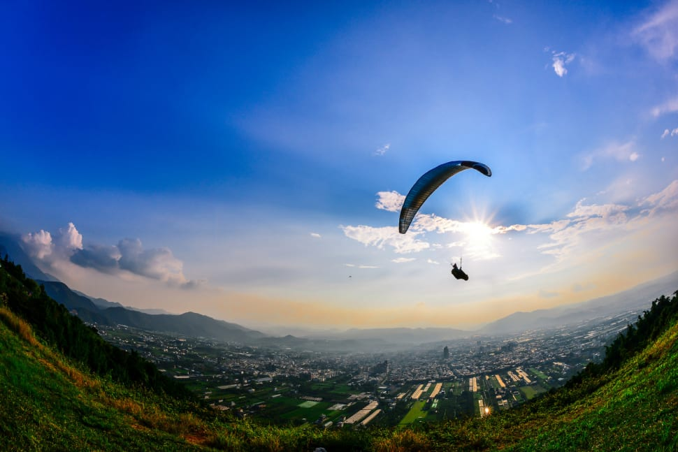 Paragliding in Taiwan - Best Time