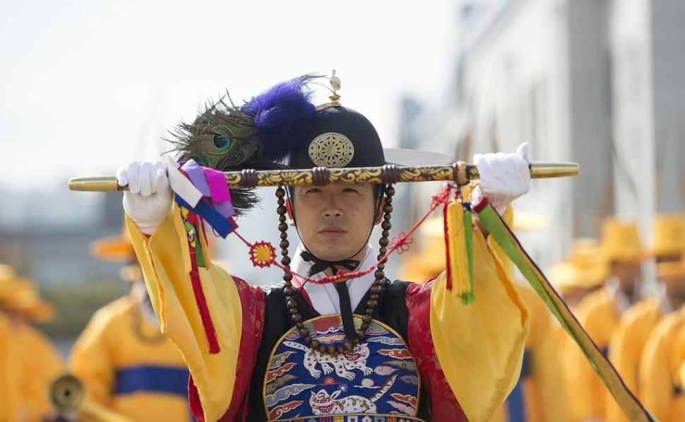 Honour Guard Ceremony in Seoul - Best Season