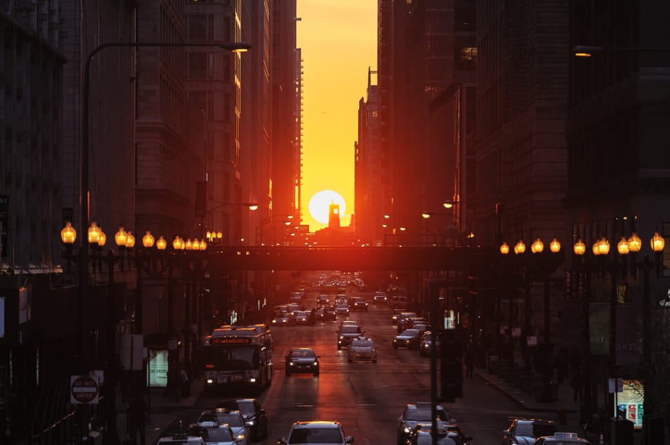 Chicagohenge in Chicago - Best Time