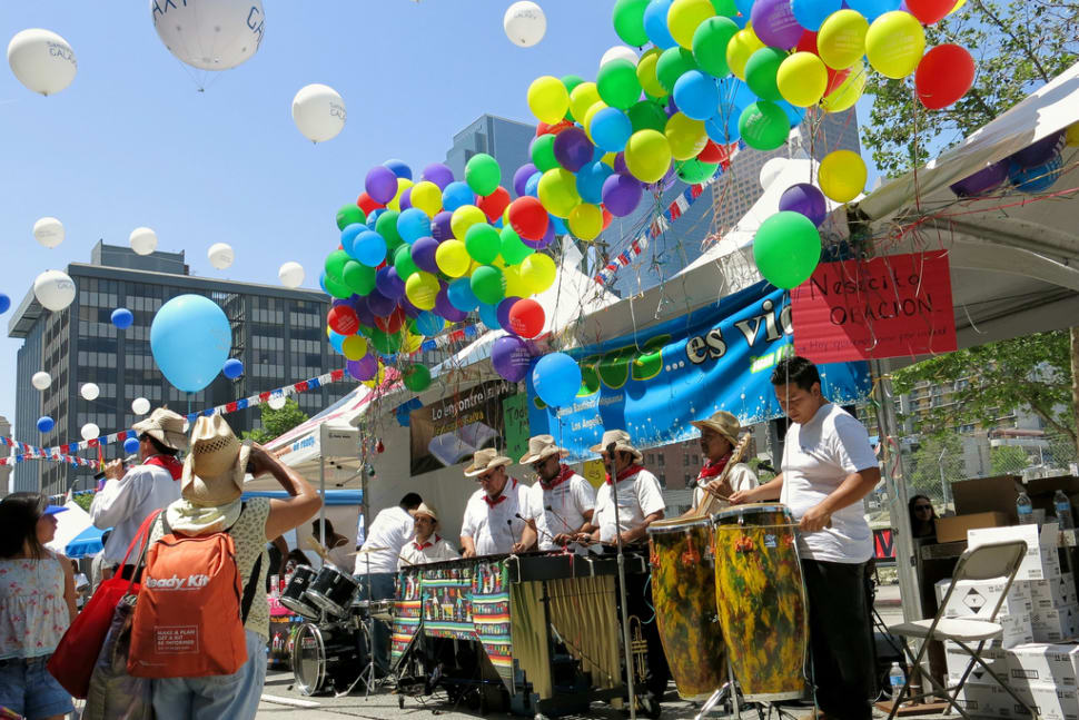 Best time for Fiesta Broadway in Los Angeles
