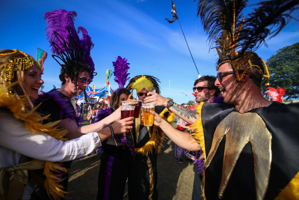 Best time for Isle of Wight Festival in England