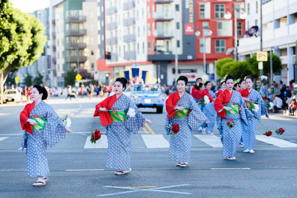 Japanese Traditional Dancers