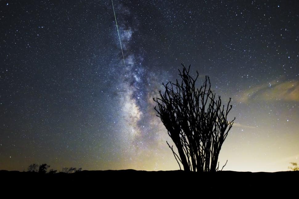 Perseid Meteor Shower in California - Best Time
