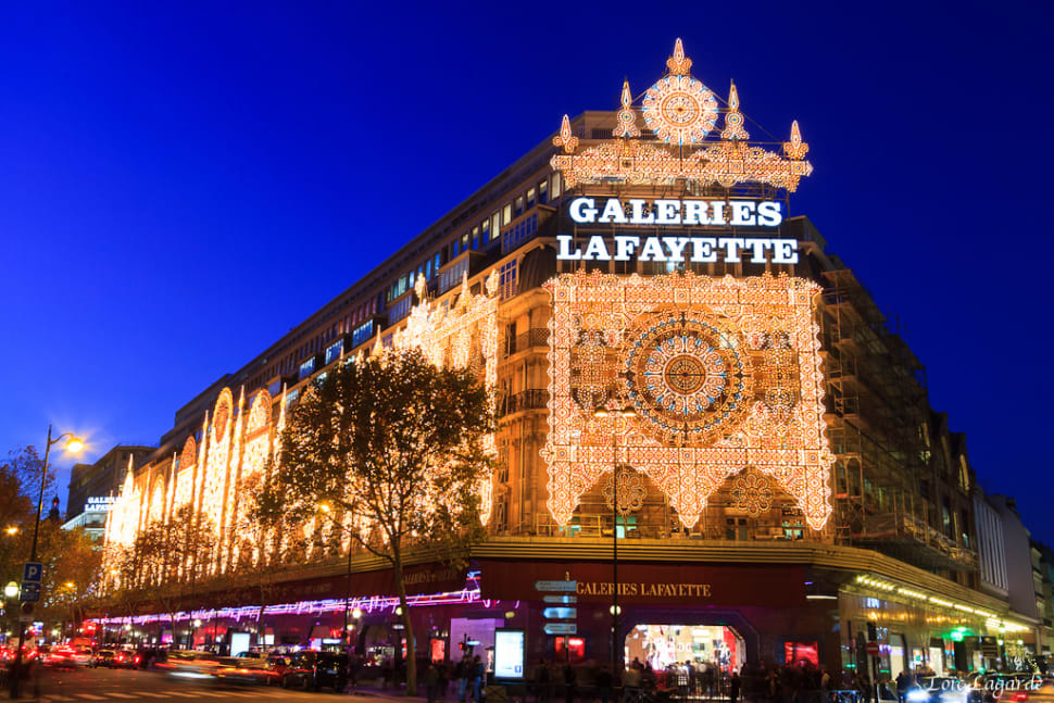 Best time for Terrace of the Galeries Lafayette in Paris