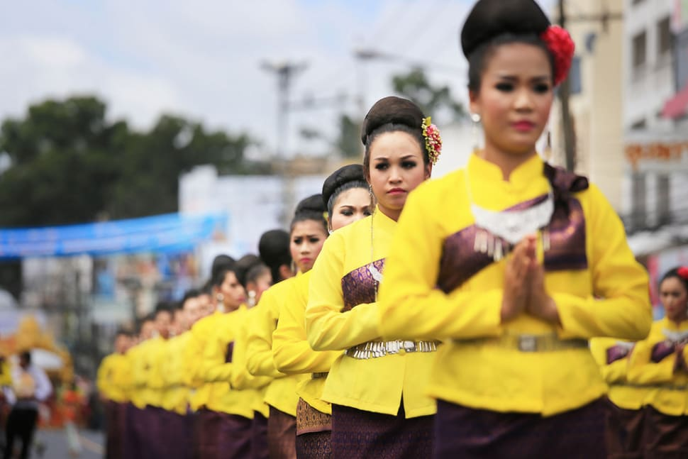 Best time for Candle Festival in Ubon Ratchathani in Thailand