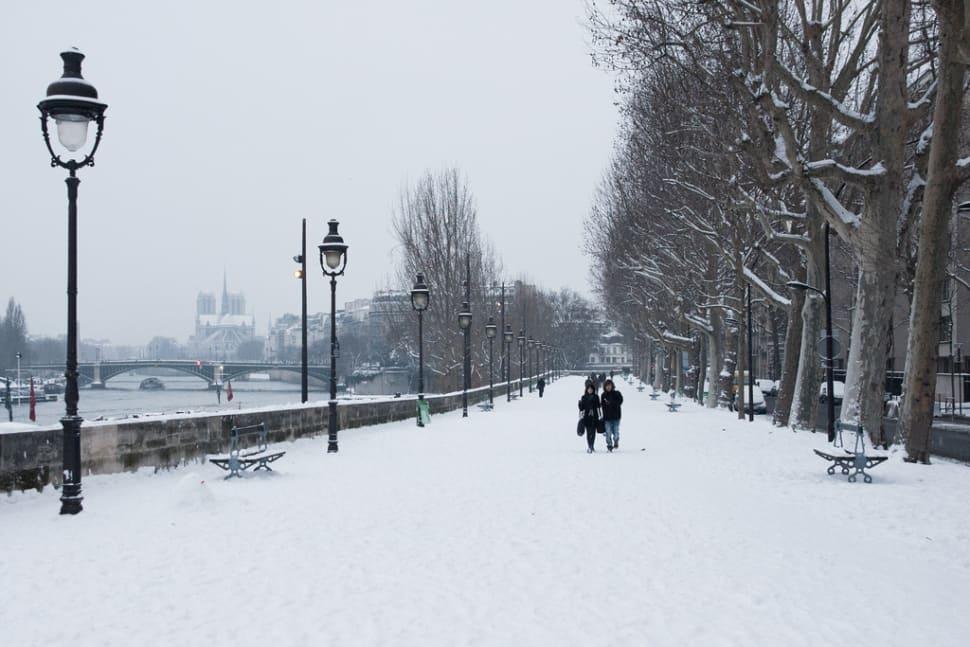 Winter in Paris - Best Time