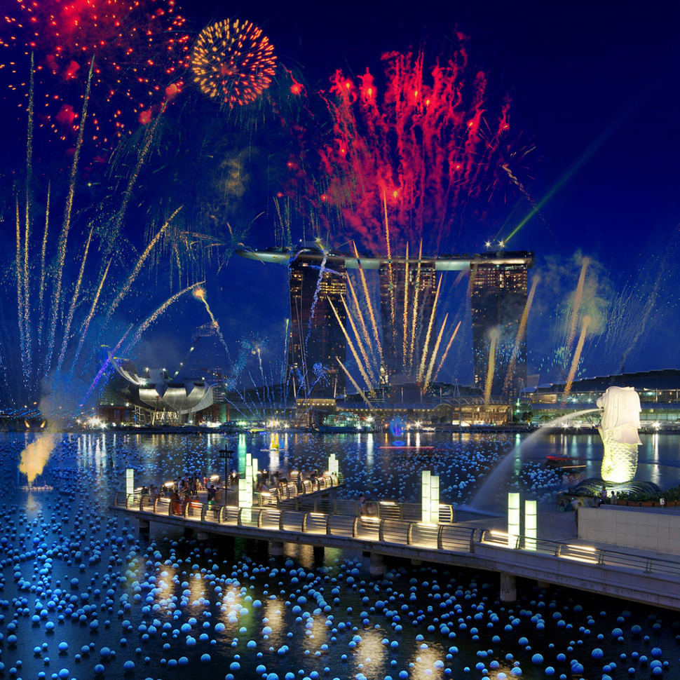 Marina Bay Singapore Countdown in Singapore - Best Time