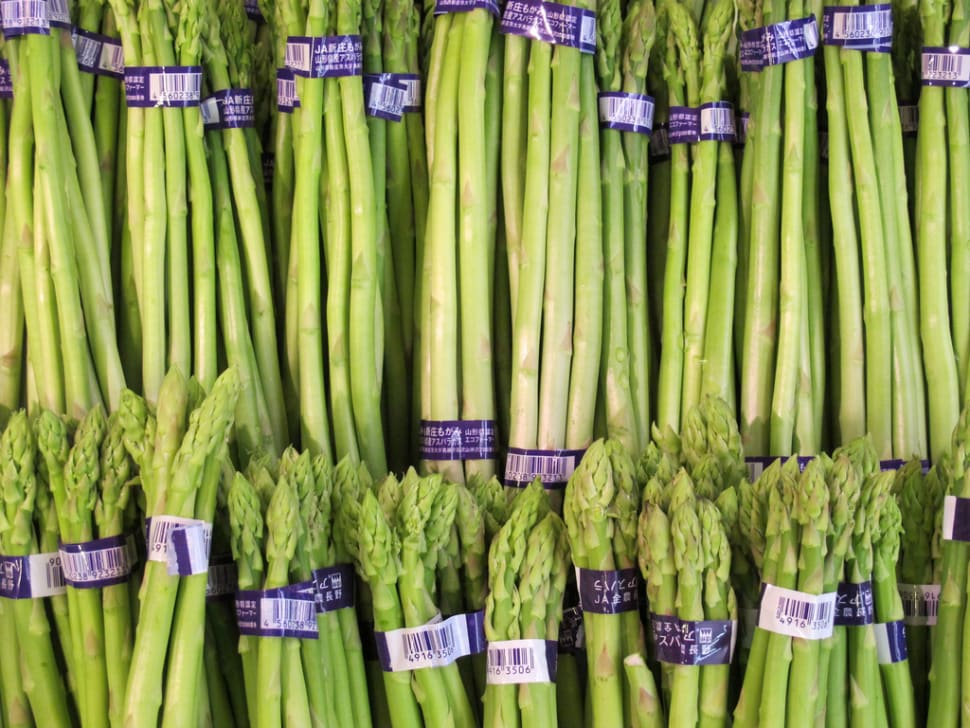 Asparagus in Japan - Best Time
