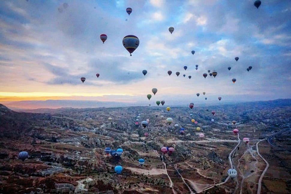Best time for Ballooning Сhallenge in Cappadocia