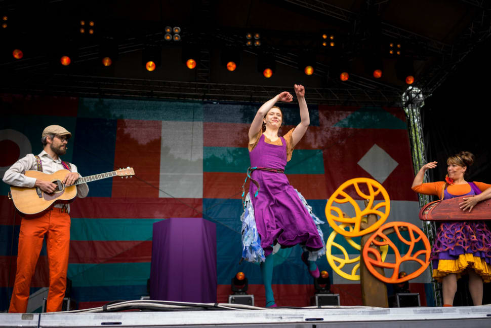 Best time for World Village Festival in Finland