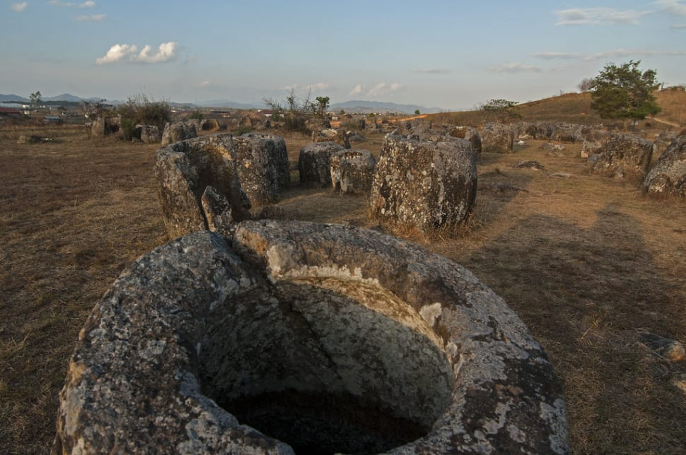 The Plain of Jars in Laos - Best Season