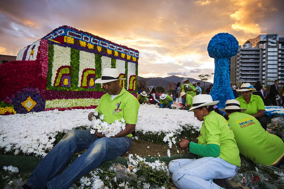 Feria de Las Flores (Flower Festival) in Colombia - Best Time