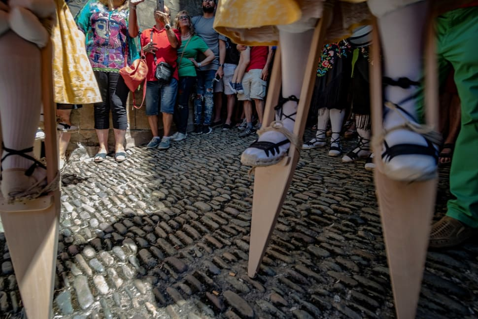 Anguiano Stilt Dance in Spain - Best Season