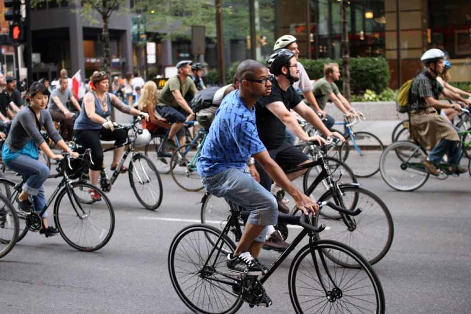 Critical Mass in Chicago - Best Time