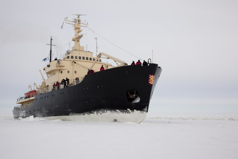 Icebreaker Cruise and Ice Floating in Finland - Best Season