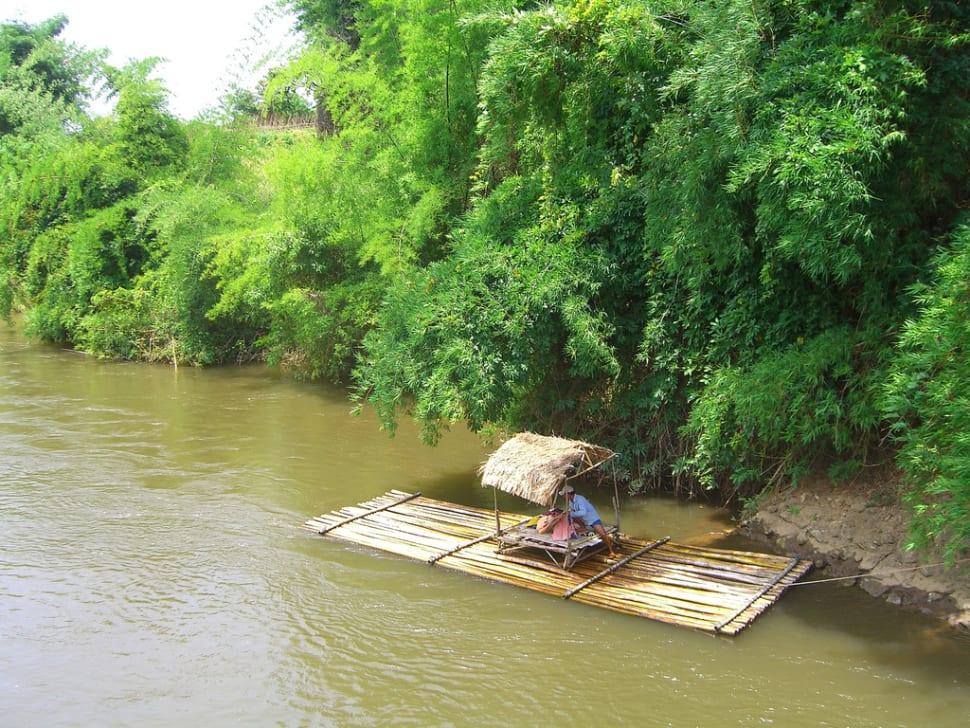 Bamboo Rafting During Dry Season in Thailand - Best Season