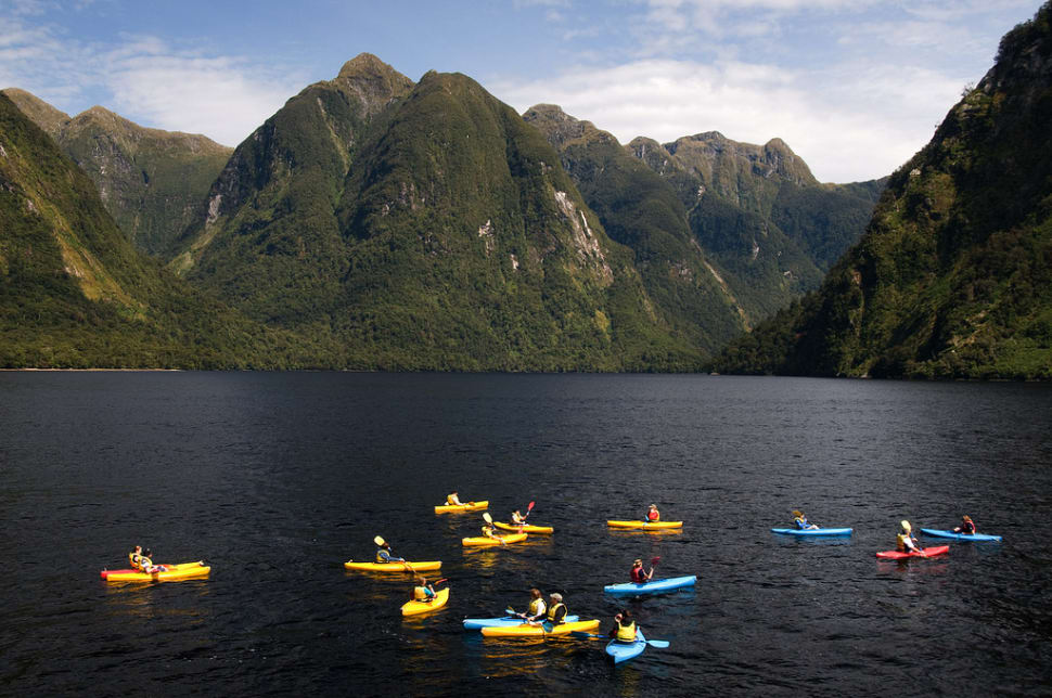 Best time to see Kayaking in New Zealand