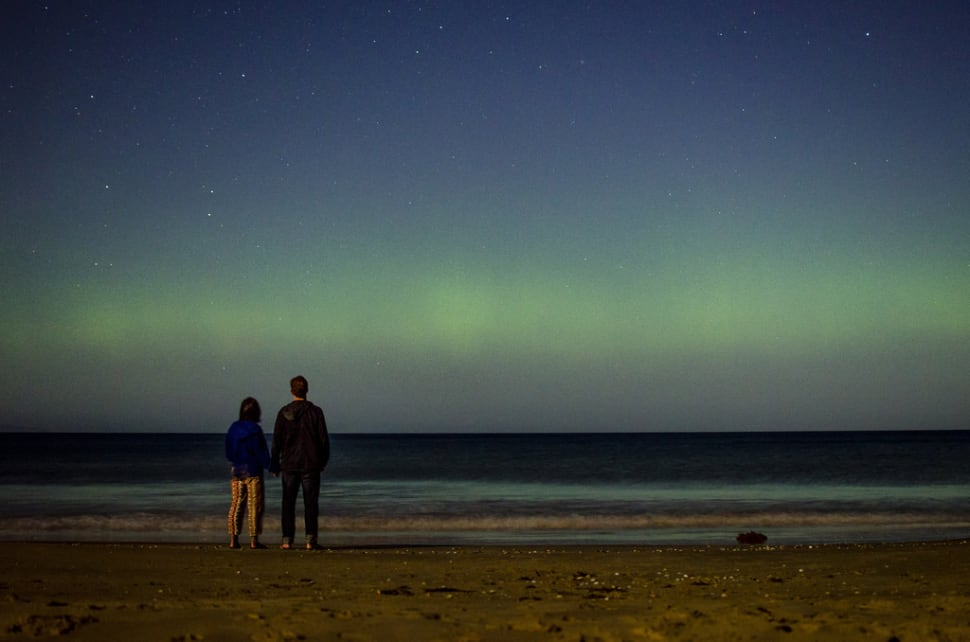 Aurora Australis in Tasmania - Best Season