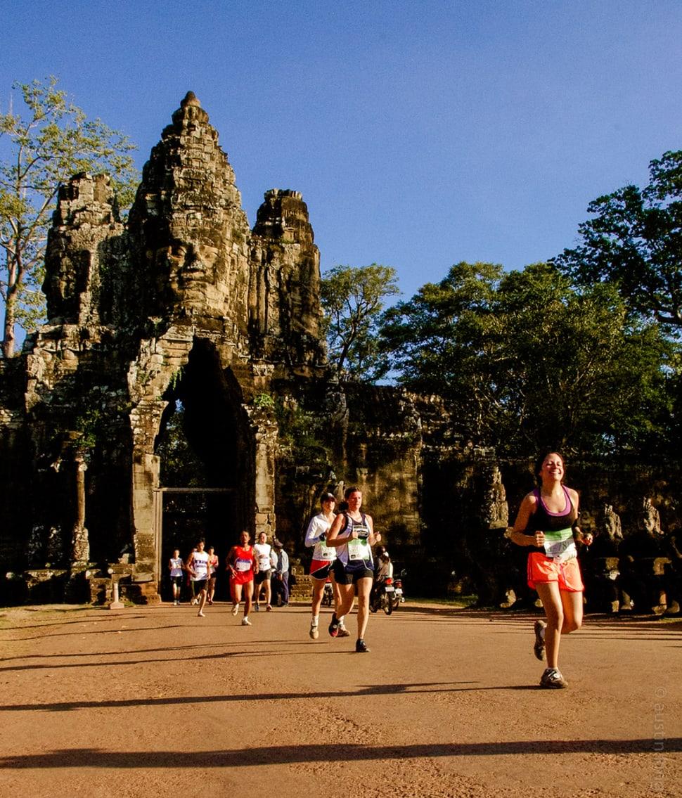 Angkor Wat International Half Marathon in Cambodia - Best Time