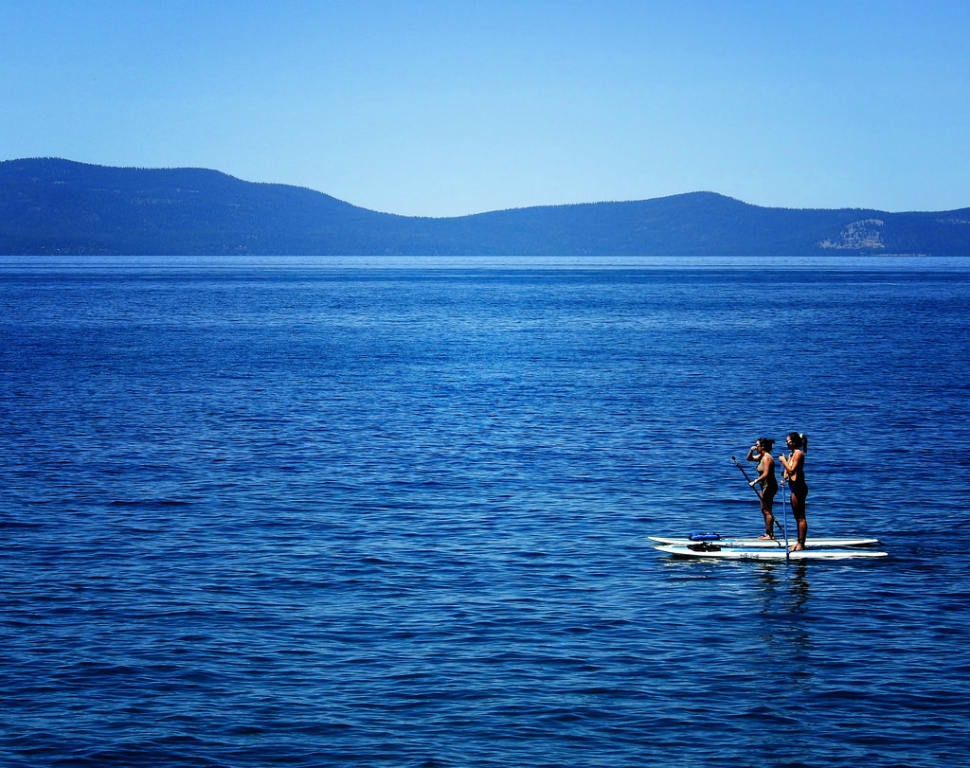 Paddleboarding (SUP) in California - Best Time