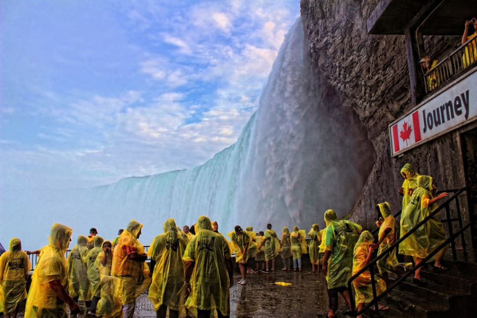 Journey Behind the Falls in Niagara Falls - Best Time