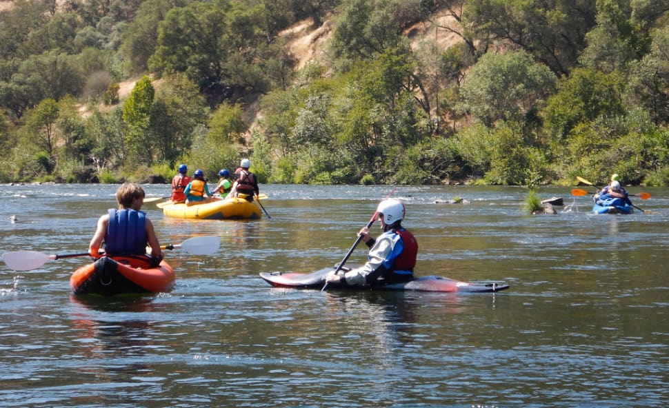Best time for Rafting in California