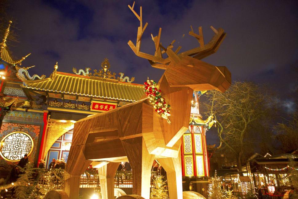 Trojan reindeer in the Tivoli Gardens